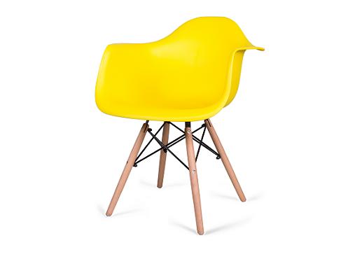 Стул с подлокотниками Ravel Plastic Armchair DAW
