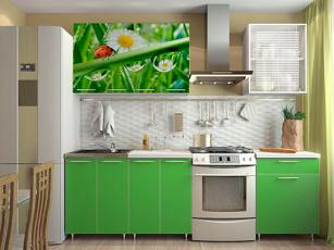 Кухня Зелена мамба/лето