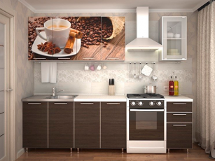 Кухня фотофасад Кофе