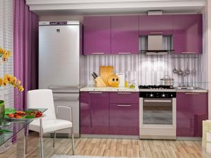 Кухня Колор №2 (сирень)