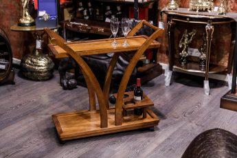 Стол сервировочный цвет Испанский орех
